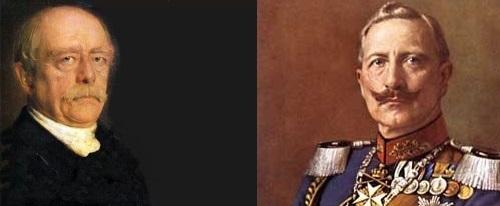 Bismark und Wilhelm