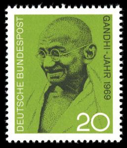 Briefmarke Mahatma