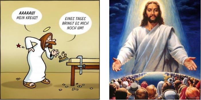 Jesus ist ein Mensch