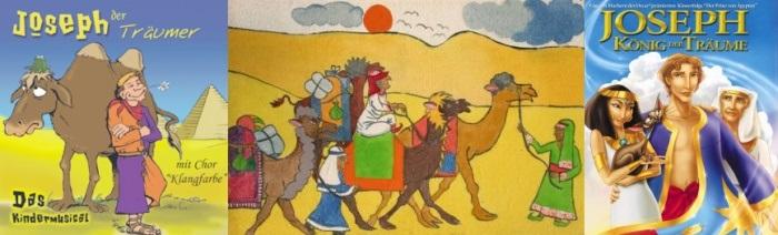 Josef der Sohn von Rahel uznd Jakob