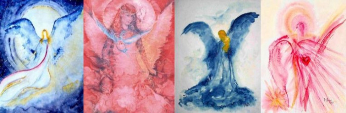 Vier Engel lassen bitten