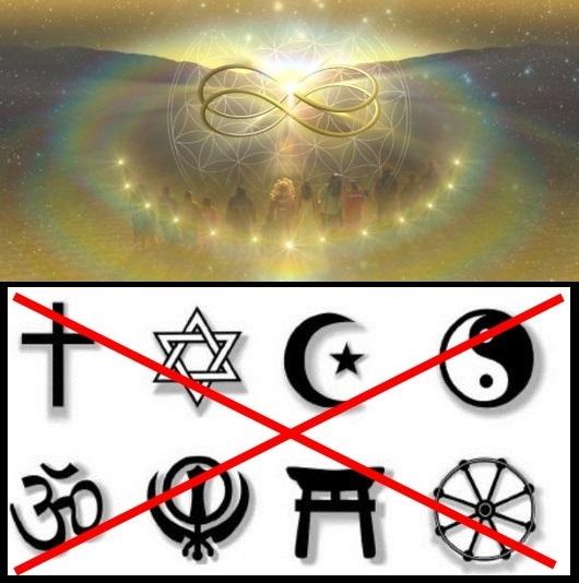 raus aus den Religionen- rein ins Licht
