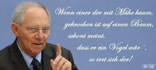 Schäuble Protagonist