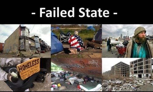 failed state untergang